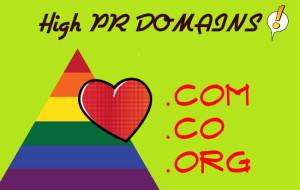 domains high pr